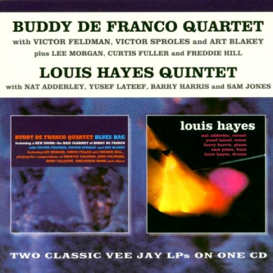 Blues Bag + Louis Hayes Quintet (2 LP on 1 CD)