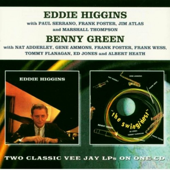 Eddie Higgins + The Swingin'est (2 LPs on 1 CD)