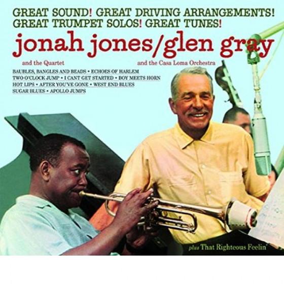 Jonah Jones / Glen Gray + That Righteous Feelin' (2 LPs on 1 CD)