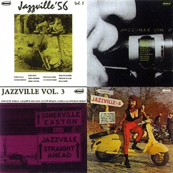Jazzville (4 EPs on 2 CDs)