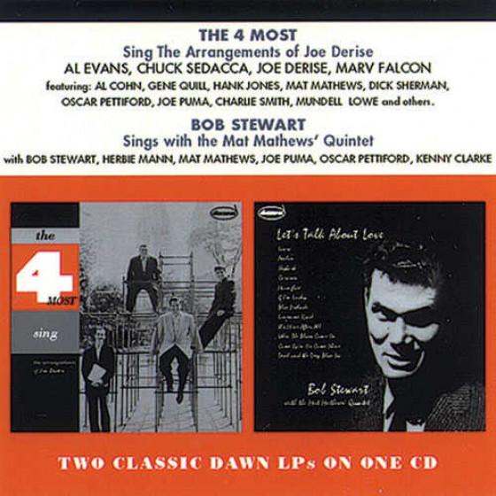 Sing The Arrangements of Joe Derise + Sings With The Mat Mathews' Quintet (2 LPs on 1 CD)