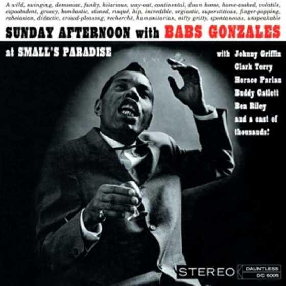 Sunday Afternoon with Babs Gonzales at Small's Paradise