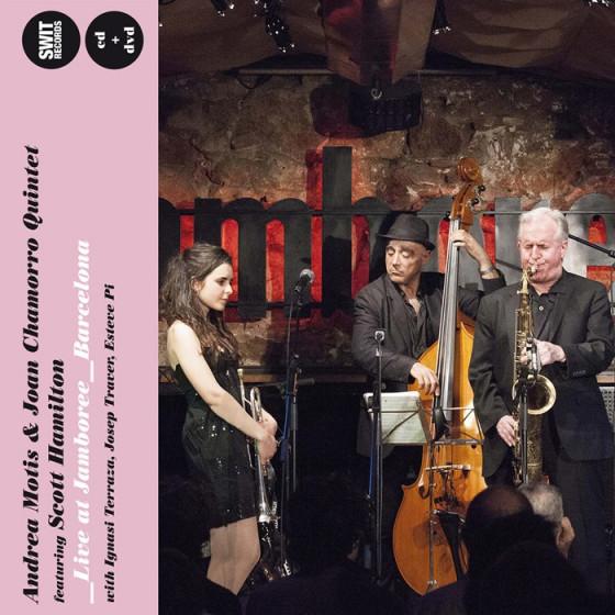 Live at Jamboree, Barcelona (CD + DVD) Featuring Scott Hamilton