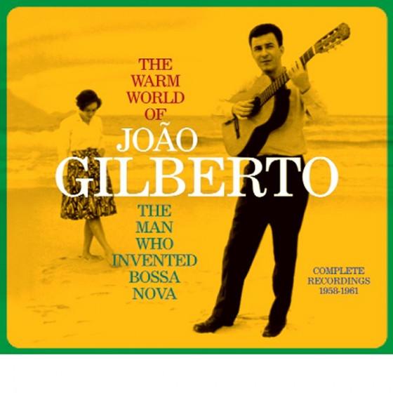 The Warm World of João Gilberto - The Man Who Invented Bossa Nova (Complete Recordings 1958-1961) Digipack