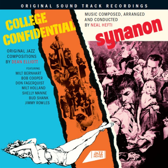 College Confidential + Synanon (2 LPs on 1 CD)