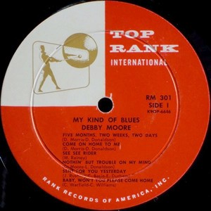 Debby Moore My Kind Of Blues Blue Sounds