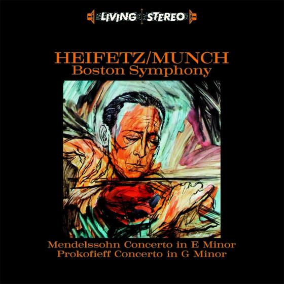 Heifetz / Munch · Boston Symphony (Audiophile 180gr. HQ Vinyl)