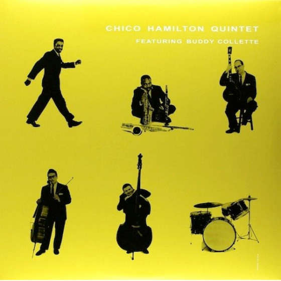 The Chico Hamilton Quintet Featuring Buddy Collette - Walkin' Carson Blues - Spectacular