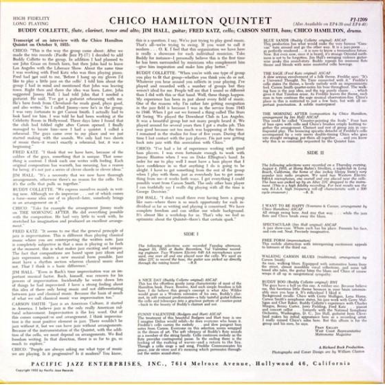 Pacific Jazz PJ-1209