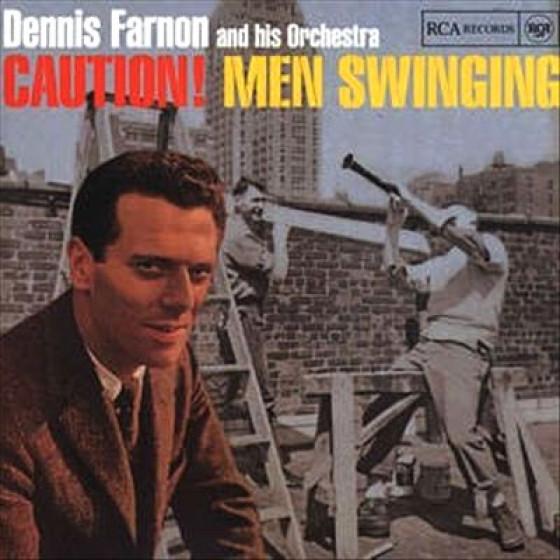 Caution Men Swinging