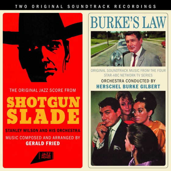 Shotgun Slade + Burke's Law (2 LP on 1 CD)