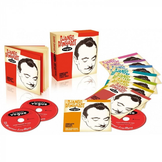 Django Reinhardt on Vogue - Complete Edition 1934-1951 (8-CD Box Set)