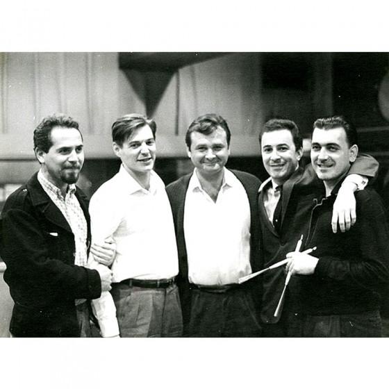 Tiao Neto, Tom Jobim, Stan Getz, Joao Gilberto & Milton Banana