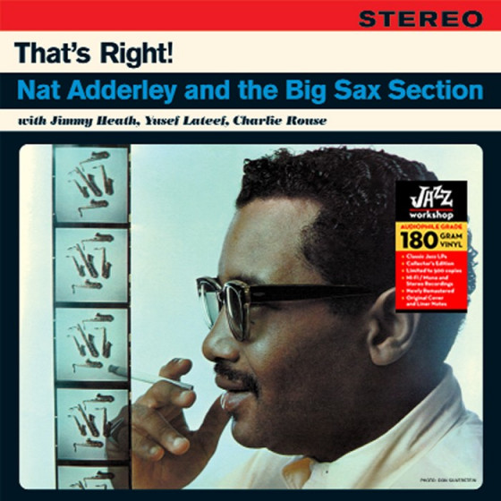 That's Right! Nat Adderley and The Big Sax Section (Audiophile 180gr. HQ Vinyl)