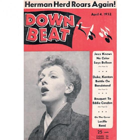 Down Beat, April 1952