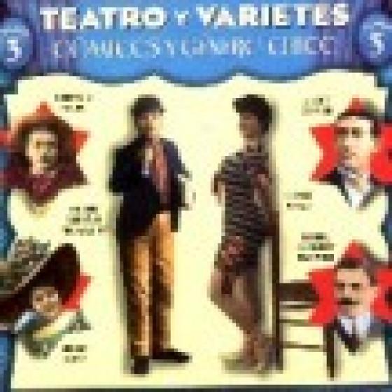 Teatro y Varietés - Volumen 3