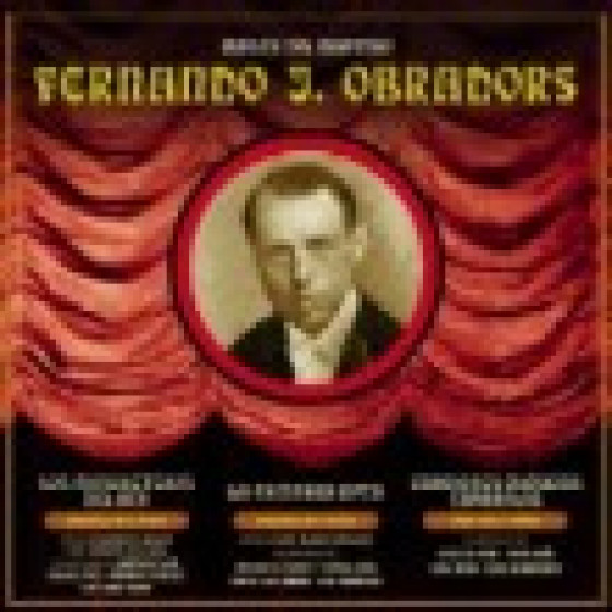 Música del Maestro Fernando J. Obradors: Los Mosqueteros del Rey / La Campana Rota / Canciones Clásicas Españolas
