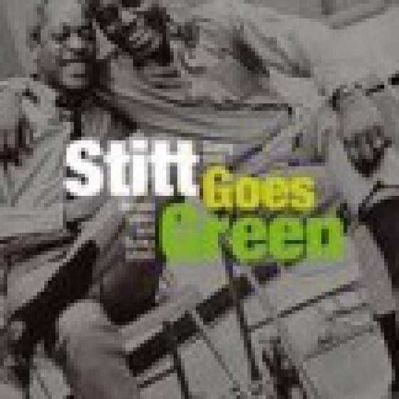 Stitt Goes Green