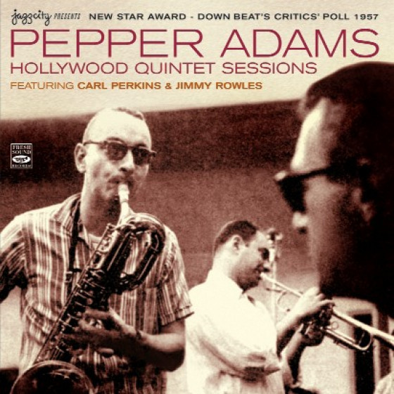 New Star Award - Down Beat's Critics' Poll 1957 - Hollywood Quintet Sessions