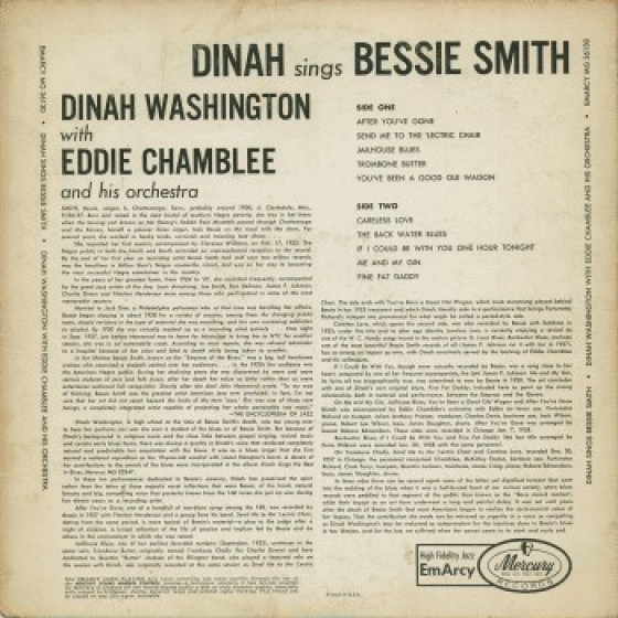 Bessie smith records