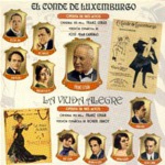 El Conde De Luxemburgo - Viuda Alegre