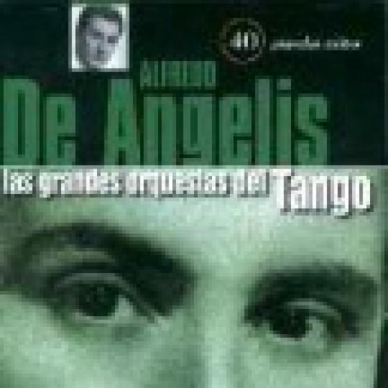 Las Grandes Orquestas del Tango: Orquesta Alfredo De Angelis - 2 Cds