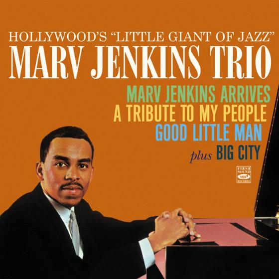 Marv Jenkins Arrives + A Tribute to My People + Good Little Man + Big City (4 LPs on 2 CDs) + Bonus Track