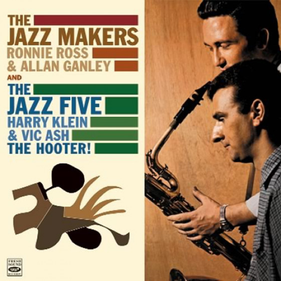 The Jazz Makers + The Hooter! (2 LP on 1 CD)