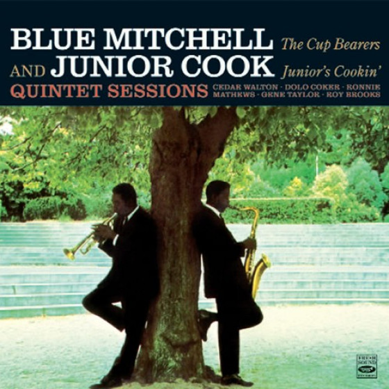 Junior's Cookin' + The Cup Bearers (2 LPs on 1 CD)