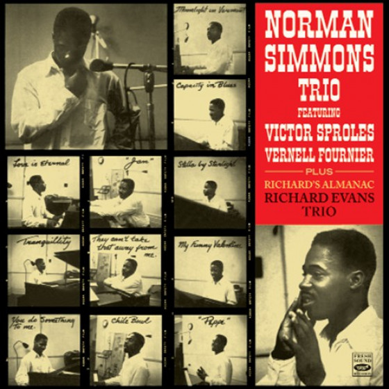 Norman Simmons Trio + Richard Evans Trio (2 LPs on 1 CD)
