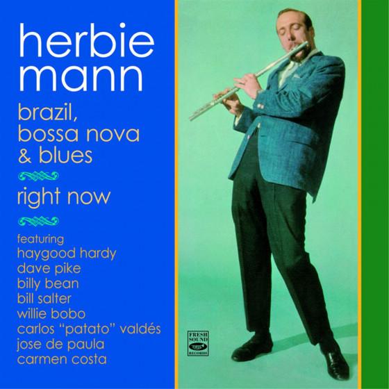 Brazil, Bossa Nova & Blues + Right Now  (2 LPs on 1 CD)