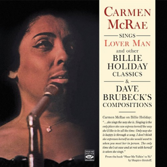 Sings 'Lover Man' and other Billie Holiday Classics & Dave Brubeck Compositions