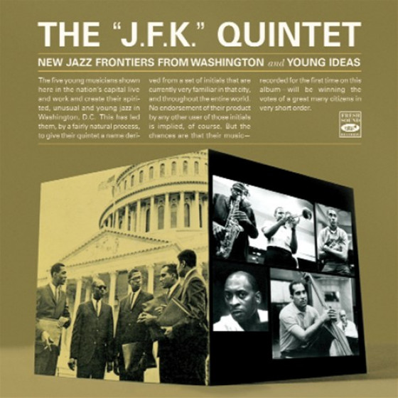 New Jazz Frontiers From Washington + Young Ideas (2 LPs on 1 CD)