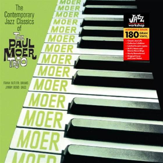 The Contemporary Jazz Classics of The Paul Moer Trio (Audiophile 180gr. HQ Vinyl)