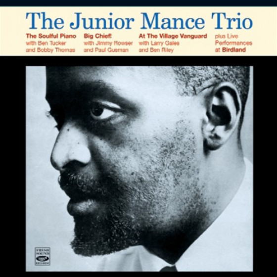 The Junior Mance Trio (3 LPs on 2 CDs) + Live Bonus Tracks