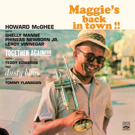 Maggie's Back in Town + Together Again + Dusty Blue (3 LPs on 2 CDs)