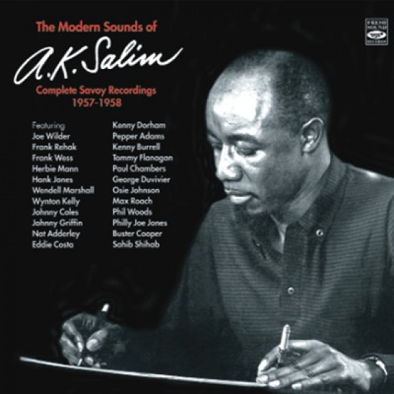 The Modern Sounds of A.K. Salim - Complete Savoy Recordings 1957-1958 Double CD