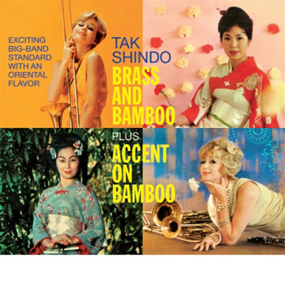 Brass and Bamboo + Accent on Bamboo (2 LP on 1 CD) Digipack