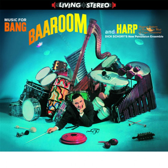 Music for Bang, Baa-Room and Harp (Digipack)