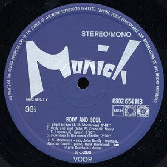 Munich Records 6802 654 M3