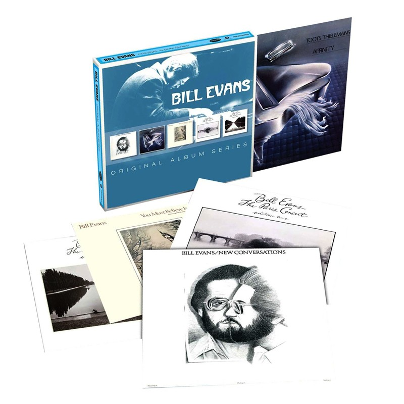 Top Bill Evans - Original Album Series (5-CD Box Set) - Blue Sounds JI55