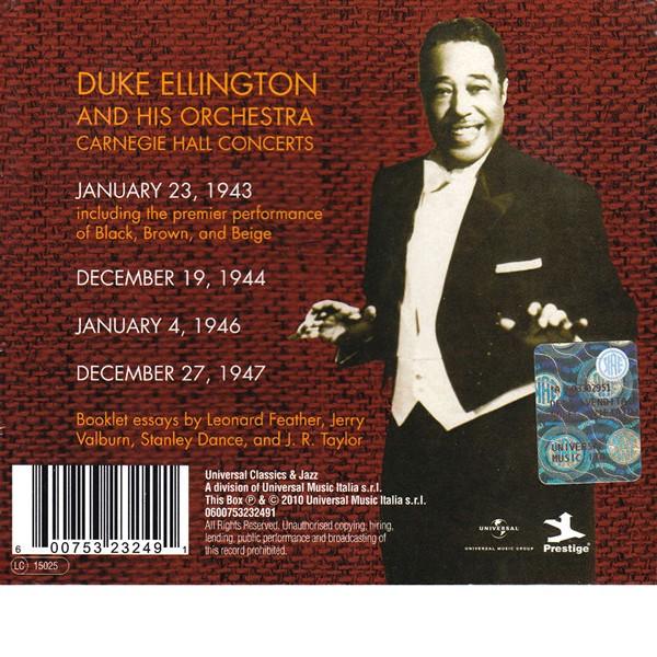 duke ellington carnegie hall concerts cd box set  the carnegie hall music hall duke ellington