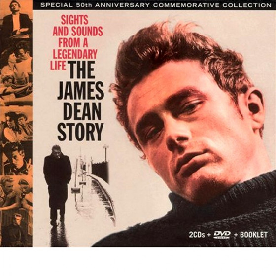 The James Dean Story - Sights and Sounds from a Legendary Life (2 CD + DVD + Book) Box Set