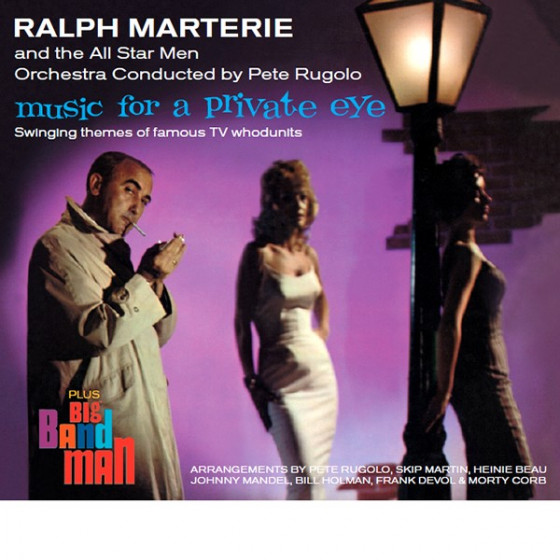 Music For a Private Eye + Big Band Man (2 LP on 1 CD) Digipack