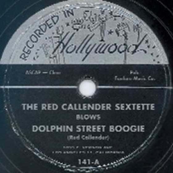 Recorded in Hollywood 78 rpm 141
