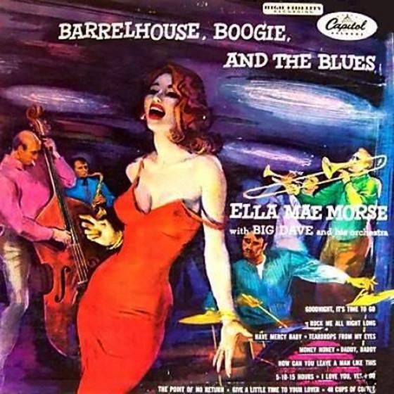 Barrelhouse, Boogie And The Blues (Vinyl)