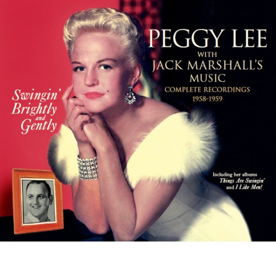 Swingin' Brightly and Gently · Peggy Lee With Jack Marshall's Music (2 LP + 10 Single Tracks on 1 CD) Digipack