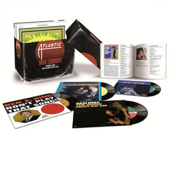 Atlantic Soul Legends - 20 Original Albums From the Iconic Atlantic Label (Box Set)