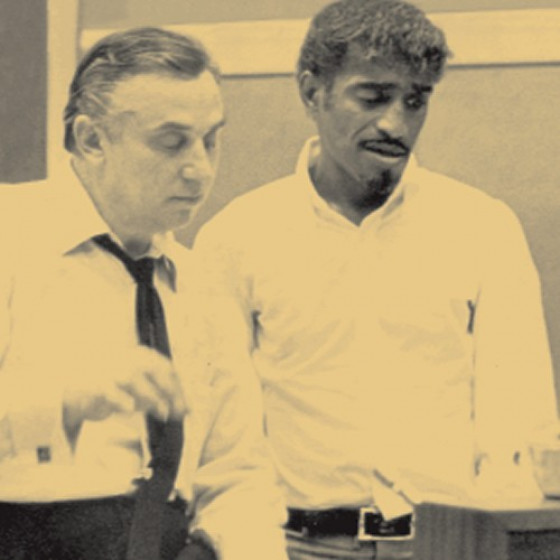 Marty Paich & Sammy Davis Jr.