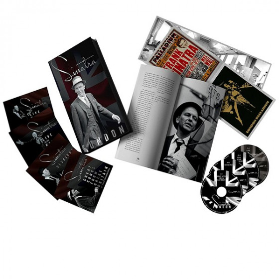 Sinatra: London (3 CD+DVD Box Set)